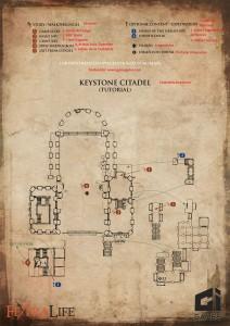 mapa en español de Keystone Citadel en the lords of the fallen