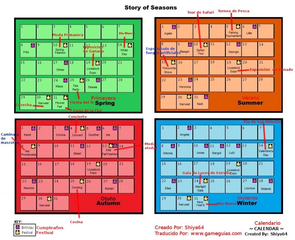 Calendario de Enventos